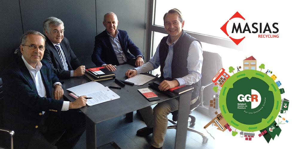 GGR – Gelabert Gestión de Residuos adjudica a Masias Recycling la remodelación de su planta, la primera planta urbana de residuo seco de Catalunya