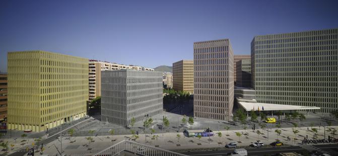 La Ciutat de la Justicia renueva el contrato de gestión de residuos a GGR