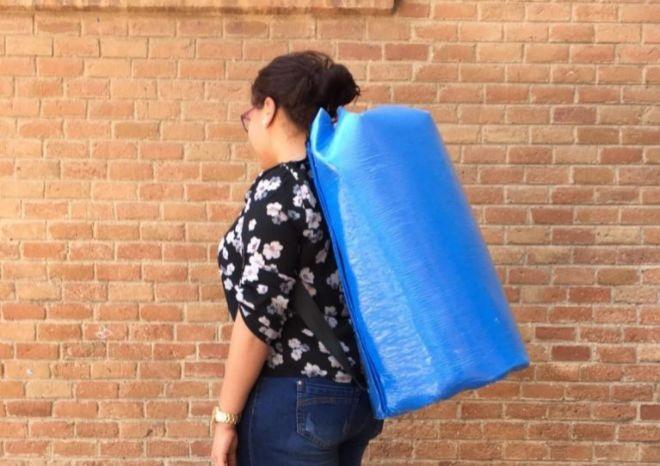 De moqueta de Fira Barcelona a mochila para refugiados. Un ejemplo de Economía Circular